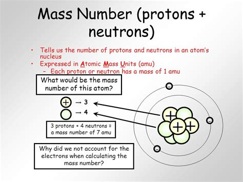 Proton Atomic Number by Unit 4 Atoms And The Periodic Table Ppt