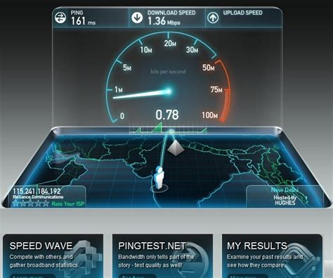 speed test speedtest net check your speed