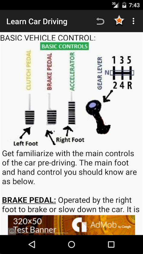 learn car driving theory 2 0 apk download android books reference apps