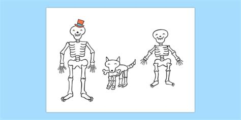 stick puppets to support teaching on funnybones funny bones
