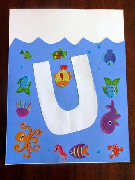 underwater crafts for 18 best images about letter uu on crafts