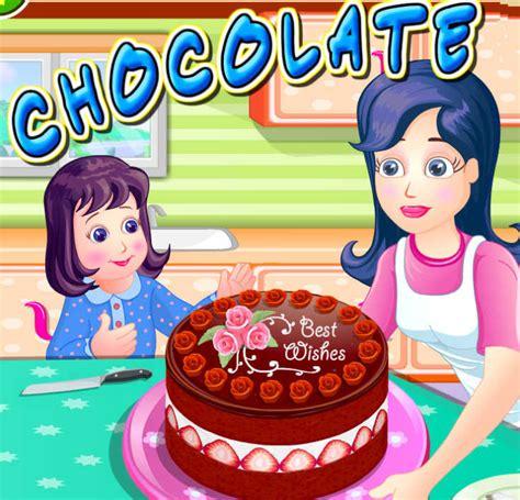 juegos de cocinar chocolates juego para cocinar pastel de chocolate juegos