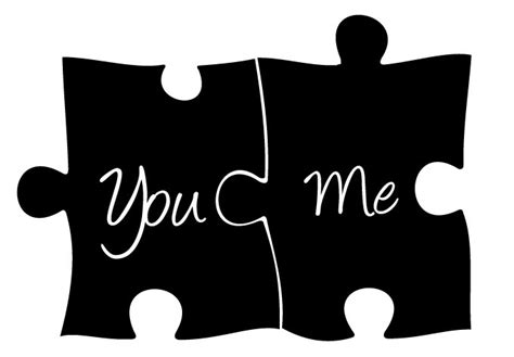 you and me you and me puzzle wall decal wall decor
