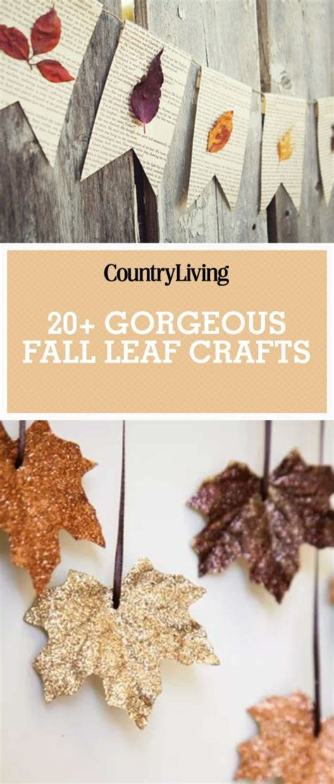autumn craft projects best 25 leaf crafts ideas on leaf crafts