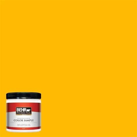 behr paint colors interior yellow behr premium plus 8 oz 370a 3 bicycle yellow interior