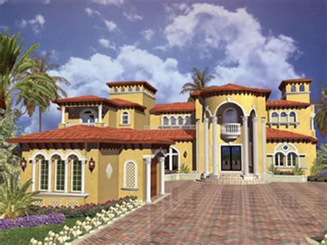 Mediteranean House Plans mediterranean house plans with swimming pool