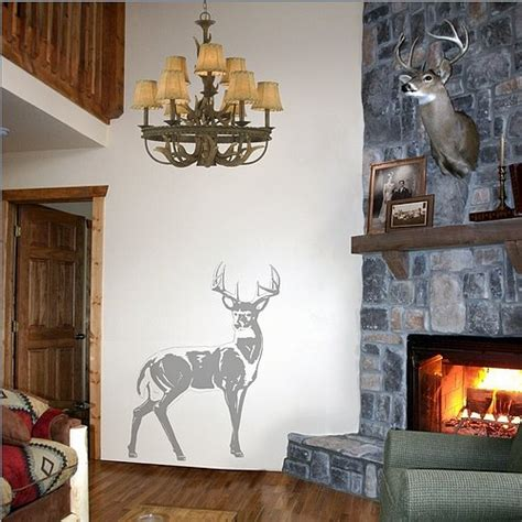 deer stickers for wall deer sudden shadows wall decals