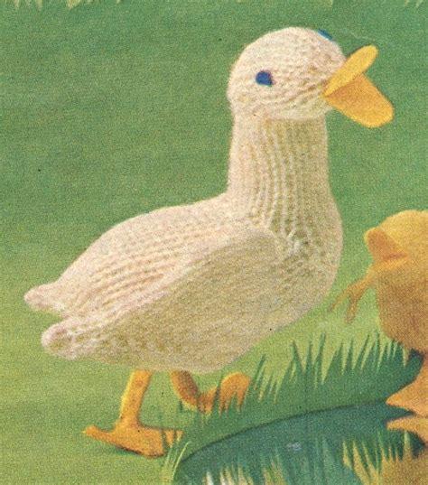 duck knitting pattern free duck knitting pattern knitting bee