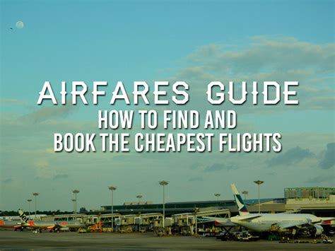 best airfare sites airfare resources a guide to the best flight booking sites
