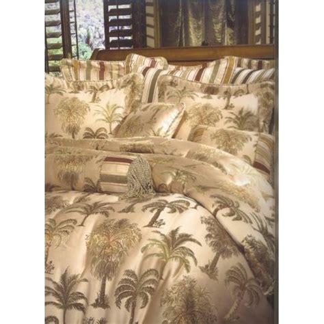 palm tree comforter set 8pc southern textiles palm tree king