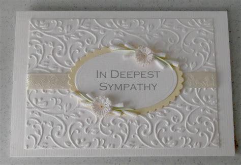 make sympathy card handmade sympathy cards uk