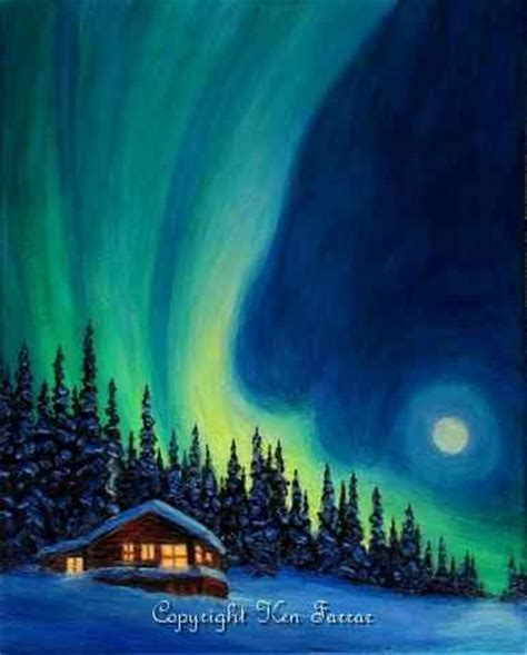 bob ross painting northern lights 17 best images about northern lights mural on