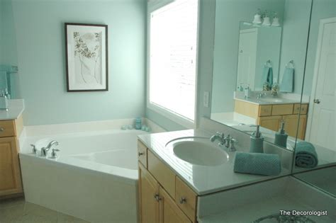 Spa Like Bathroom Paint Colors by Turn Your Builder Grade Bathroom Into A Spa In One Simple