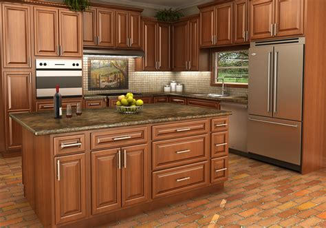 maple kitchen furniture maple stained cabinets the right choice in stock kitchens