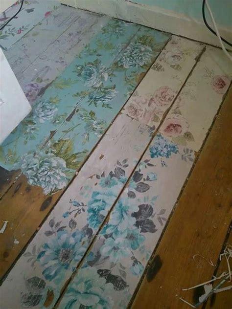 decoupage floor ideas floors home and decoupage on