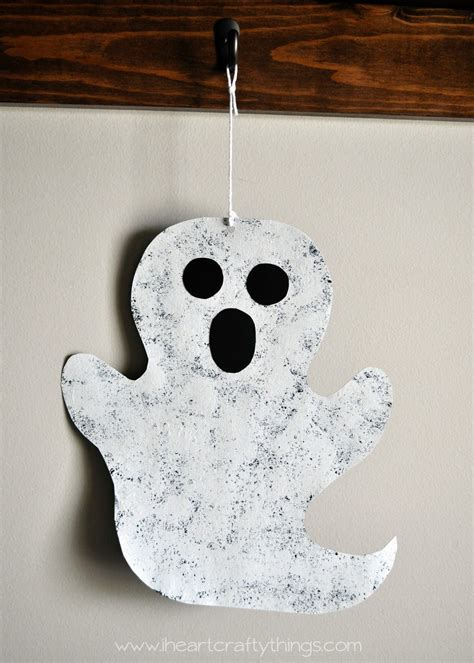 Sponge Painted Ghost Cooking With Ruthie