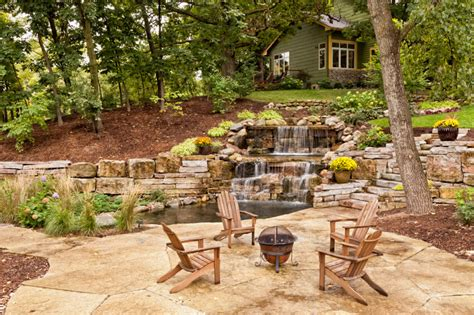 backyard pond ideas with waterfall 50 pictures of backyard garden waterfalls ideas designs