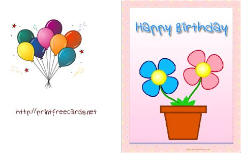 how to make birthday cards for free printable birthday card free birthday cards free