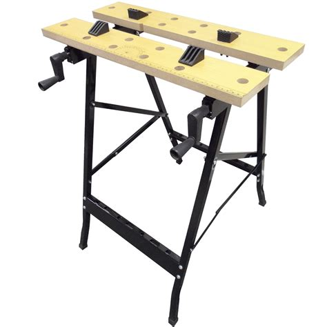 folding woodworking bench work bench mate portable folding workbench workmate saw