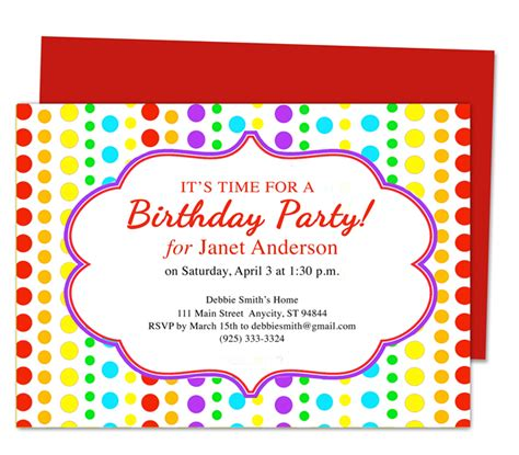 how to make birthday invitation cards 10 stirring birthday invitations template