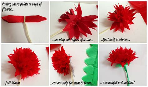 how to make from flowers classroom decor make your own paper flowers speech room