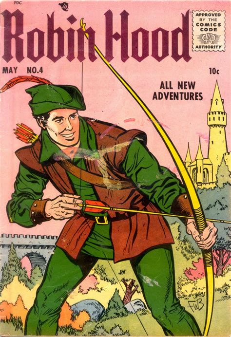 robin picture book robin 4 magazine enterprises comic book plus