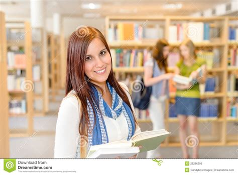 picture books for high school students high school students at library read books stock photos