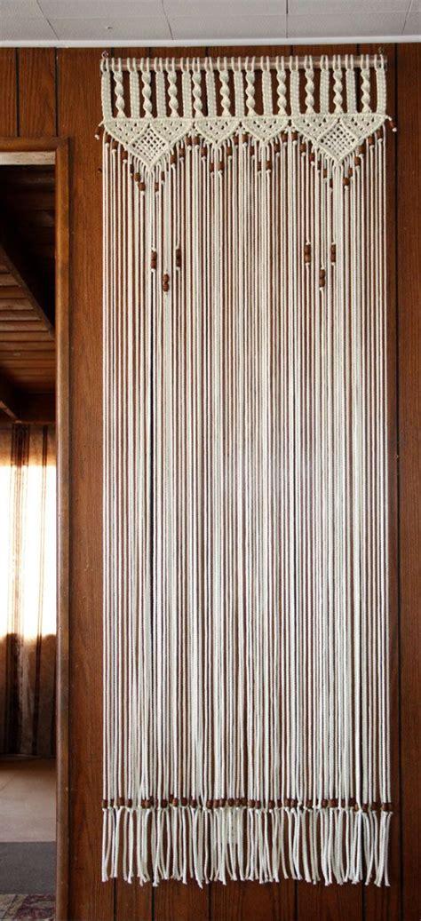 beaded curtain doorway bead fringed door curtain in macrame
