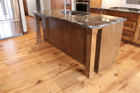 kitchen island leg two trends that are showing up in all of our custom kitchens lately interiors
