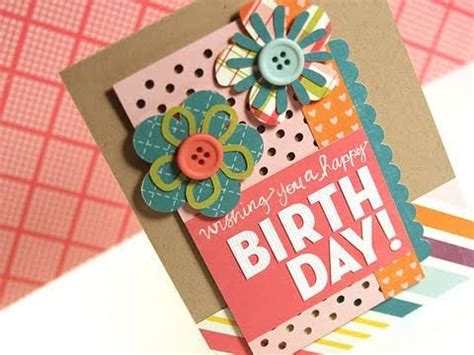 make a card monday wishing you a happy birthday make a card monday 135