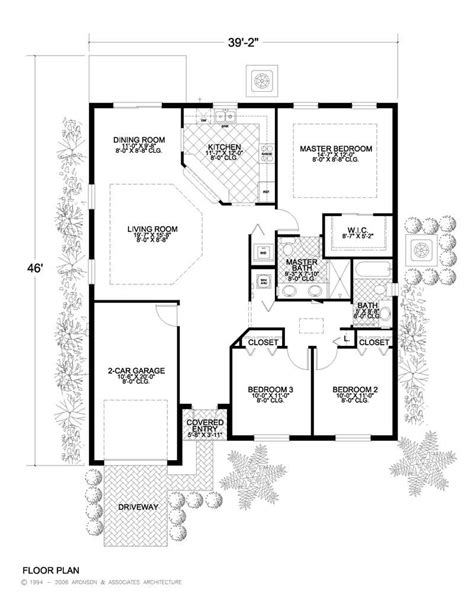 houses and floor plans california style home plan 3 bedrms 2 baths 1453 sq ft 107 1053