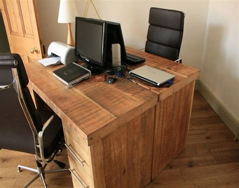 wood home office desks reclaimed wood home office desks recycled things
