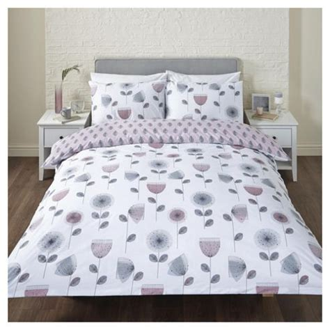 tesco single bedding sets buy retro floral single duvet set from our single duvet