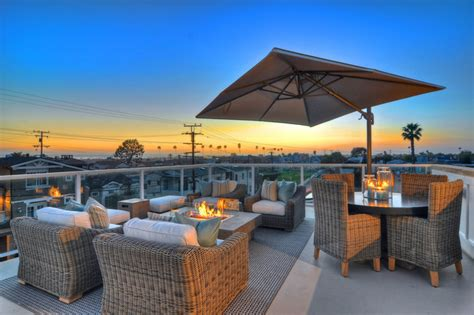 Classic Kitchen Design Ideas newport beach rooftop patio traditional patio
