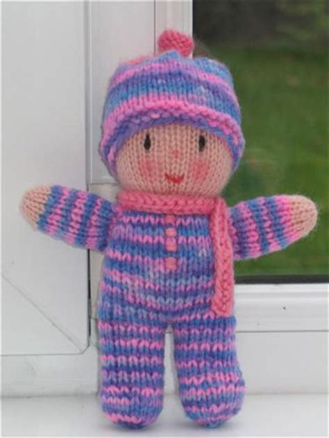 free knitted toys rainbow baby by lizzies wonderland via flickr for kiddos