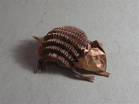 origami hedgehog hedgehog eric joisel happy folding