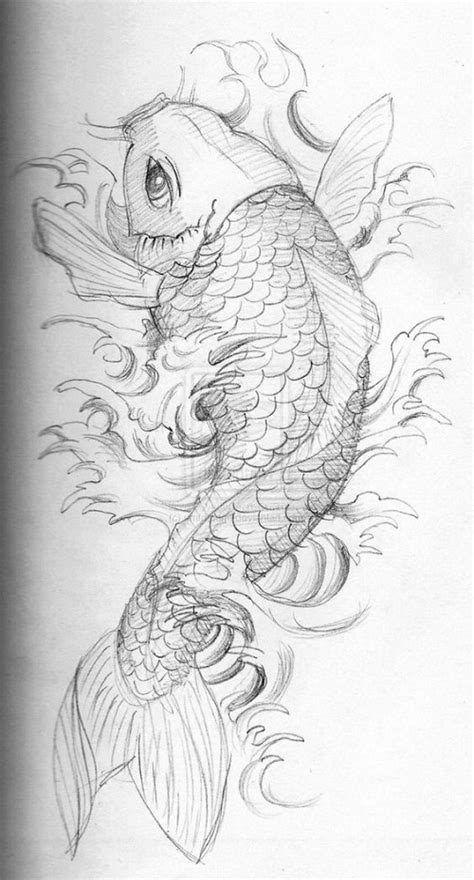 110 best japanese koi fish tattoo designs and drawings