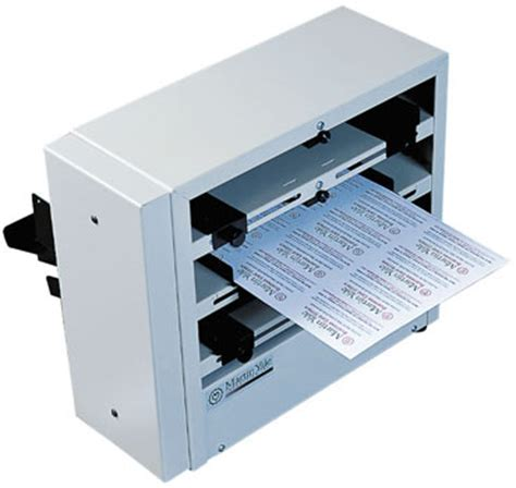 business card machine bcs 412 12 up electric business card slitter perforator