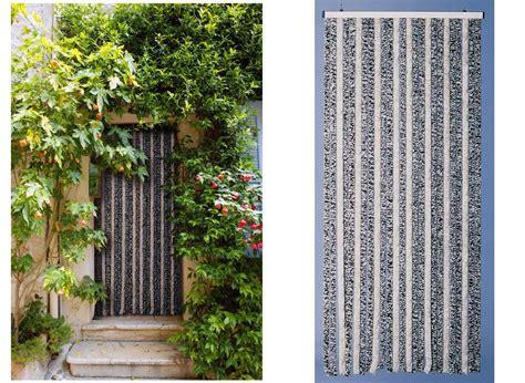 rideau de porte moustiquaire chenille flash 90 x 220 cm jardideco