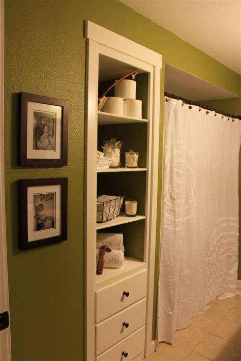 bathroom built in shelves best 20 bathroom built ins ideas on bathroom