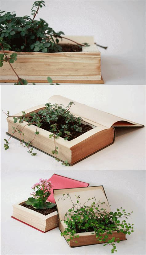 turn pictures into a book 10 diy ideas to turn an book into a book planter a