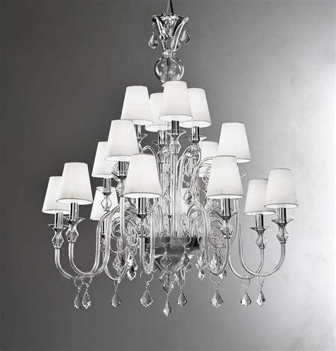 glass chandelier modern modern murano chandelier l16k clear glass murano