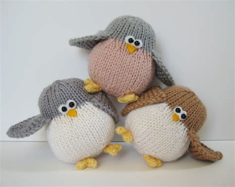 free knitted toys juggle birdies knitting patterns on luulla