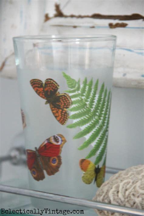 glass decoupage decoupage how to make a waterproof glass