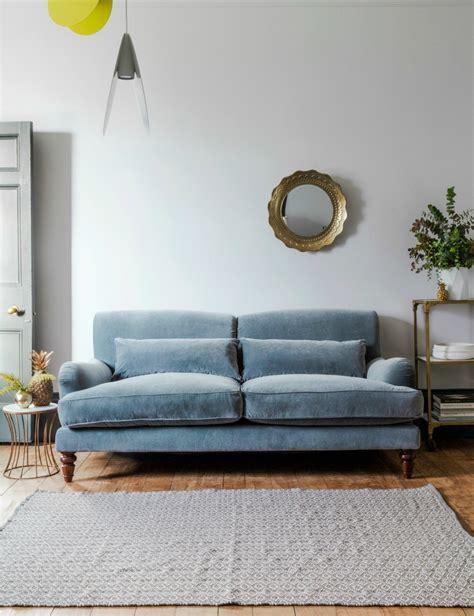 grey velvet sectional sofa three seater or two seater velvet sofa grey