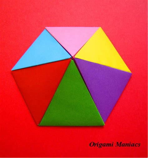 origami pyramid origami maniacs origami pyramids