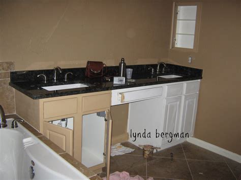 Distressed White Bathroom Cabinets by Painting Bathroom Cabinets Distressed Black Www