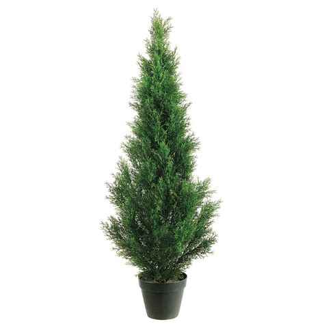 outdoor artificial tree 4 foot outdoor artificial cedar tree potted 4ftced st