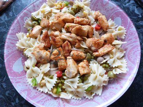 salade de p 226 tes au poulet entr 233 e d 233 lices du jour