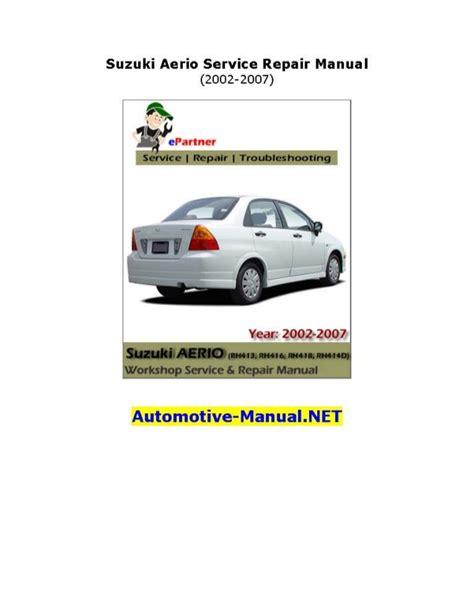 car repair manuals online pdf 2003 suzuki aerio lane departure warning service manual free download parts manuals 2005 suzuki aerio security system 100 suzuki
